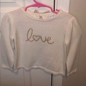 Love sweater - Janie and Jack